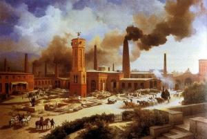 How the industrial revolution is incredibly important to the evolution of the built environment?