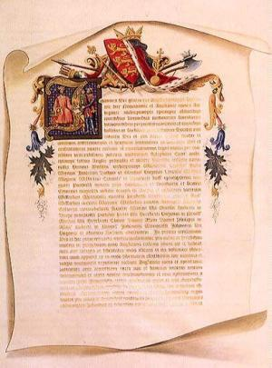 How is the Magna Carta the predecessor to constitutional law?